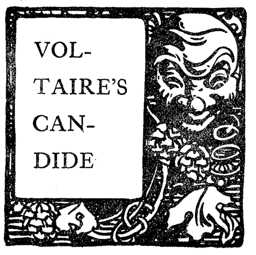 CANDIDE by VOLTAIRE with WPC + Joseph Hudson Narrating at Madame ZuZu's this Sunday