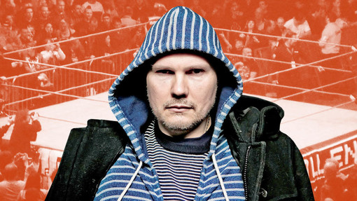 ESQUIRE: Billy Corgan on His Surprising Quest to Tell Professional Wrestling's 'Great Americ