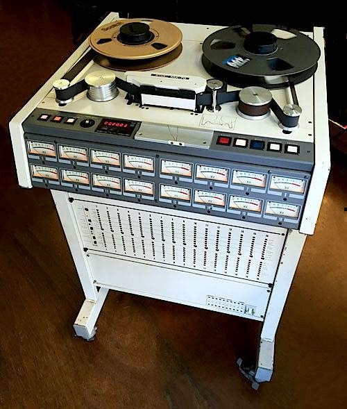 Memorabilia Monday: 16 Track Analog Recorder