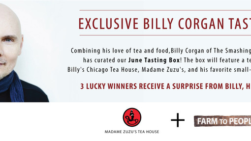 Billy Corgan + Farm to People Curate a Limited Edition Small Batch Artisanal Tasting Box!  (3 Lucky