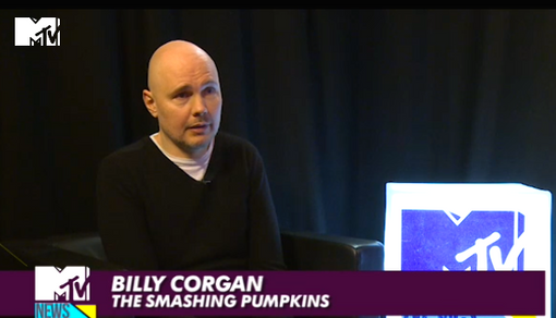 MTV NEWS INTERVIEW WITH BILLY CORGAN