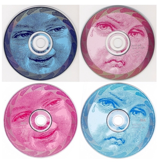 Mellon Collie And The Infinite Sadness: Mis-pressed colour CDs