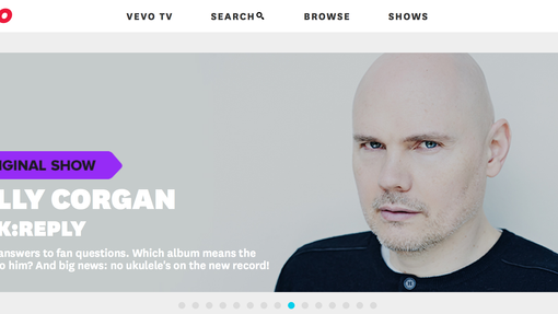 ASK REPLY VEVO WITH BILLY CORGAN