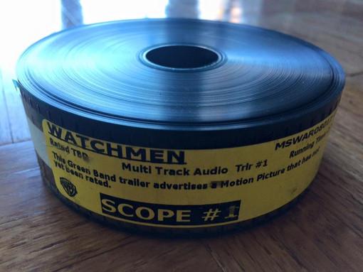 Memorabilia Monday: Watchmen 35mm Trailer