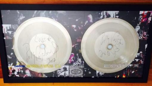 Memorabilia Monday: Lull Vinyl Pressing Plates