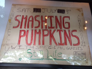 MEMORABILIA MONDAYS / A PREVIOUSLY UNSEEN POSTER FROM THE VERY FIRST SMASHING PUMPKINS SHOW