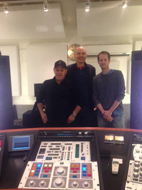 FINISHING TOUCHES ON 'ADORE' REISSUE AT HOWIE WEINBERG'S STUDIO  WITH BILLY CORGAN + HOWARD WILLING