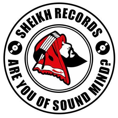 SHEIKH RECORDS: RARE AUTOGRAPHED SP POSTER SPECIAL