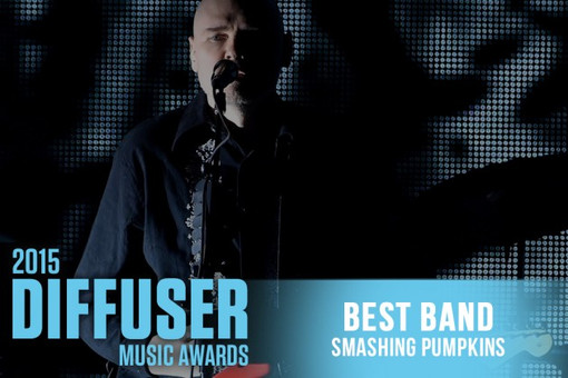 The Smashing Pumpkins — Best Band, 2015 Diffuser Music Award