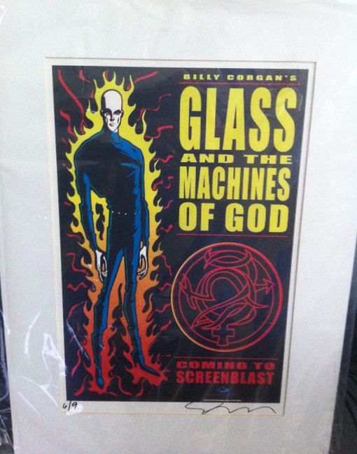 GLASS AND HIS GHOST CHILDREN/MEMORABILIA MONDAY/RARE POSTER FROM ABANDONED ANIMATION PROJECT