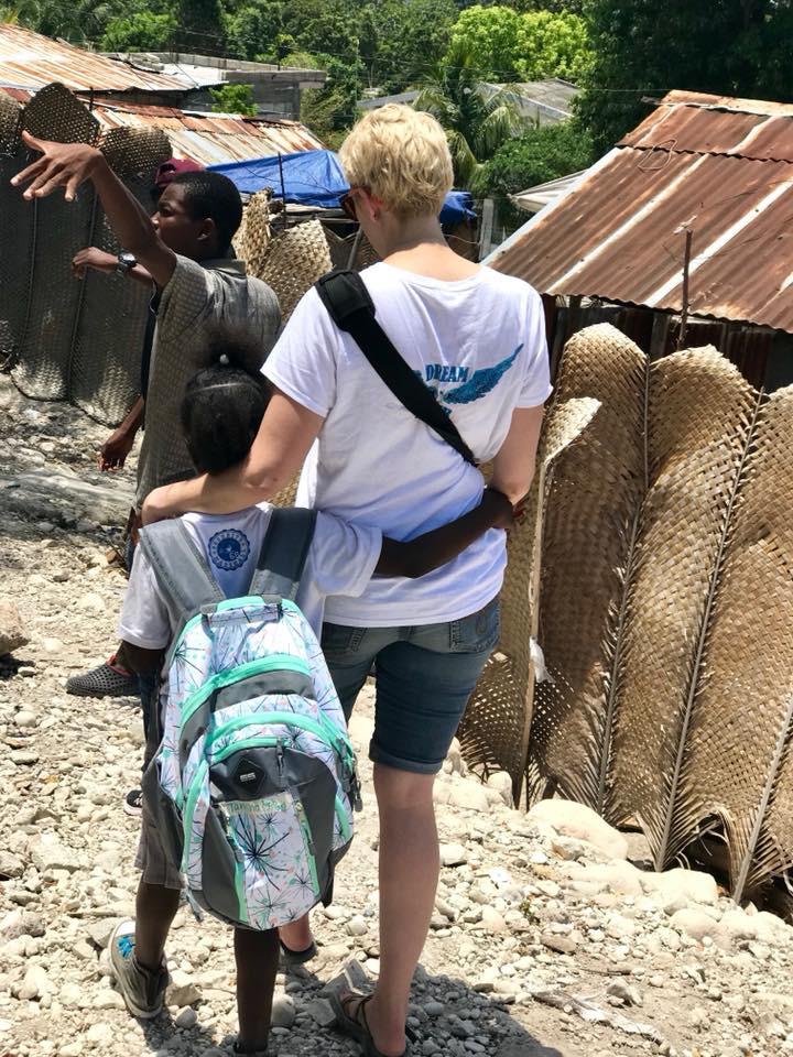 Angie Jeske in Haiti