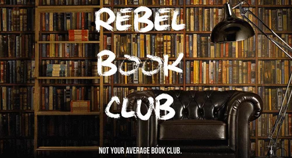 Rebel Book Club logo