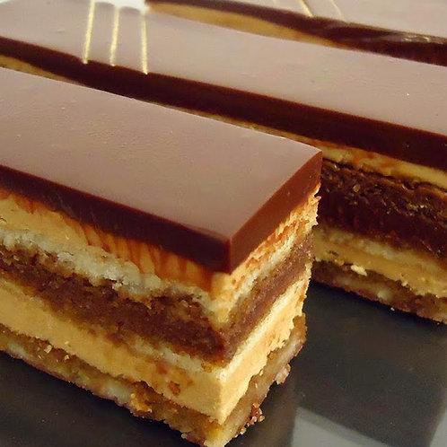 Opéra finger au chocolat noir grand cru