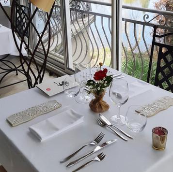 Table en véranda