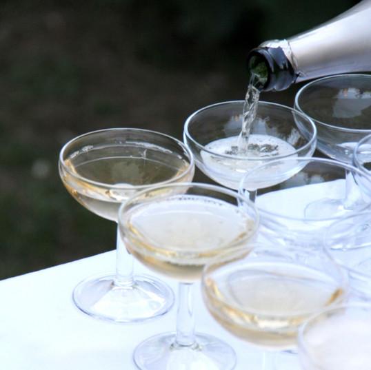 Coktail champagne
