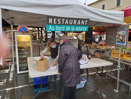 Le vendredi, à Sainte-Livrade, c'est jour de marché