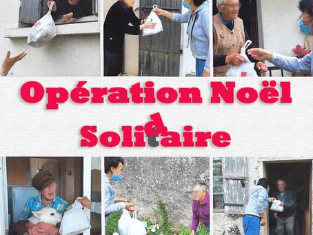 Opération Noël Solidaire