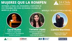 """""""Mujeres que la Rompen"""" Reunió a chilenas destacadas en STEM"""