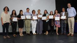 Emprendedores de Las Condes reciben su diploma de capacitación