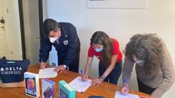 Liceo San Joaquín recibe donación de Delta Air Lines