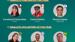 "Profesora chilena clasificada para""Teacher of the Year"""