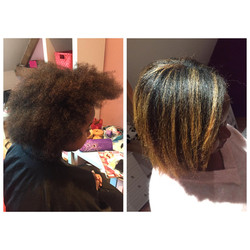 Coupe coloration transformation