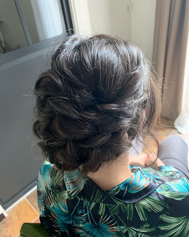 Wedding hair 💐🇫🇷✨#parvinebeautysalon_