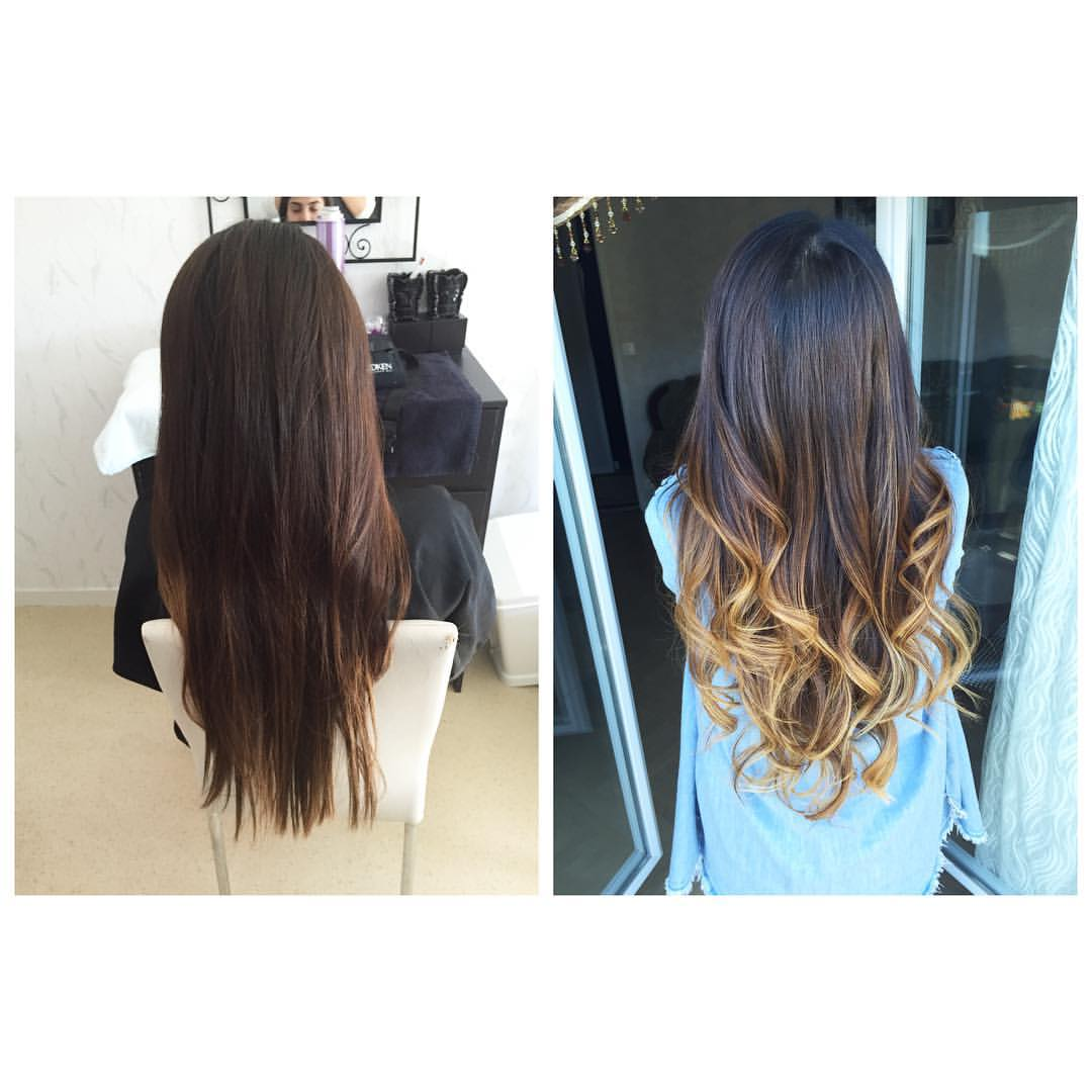 Coupe ombré hair
