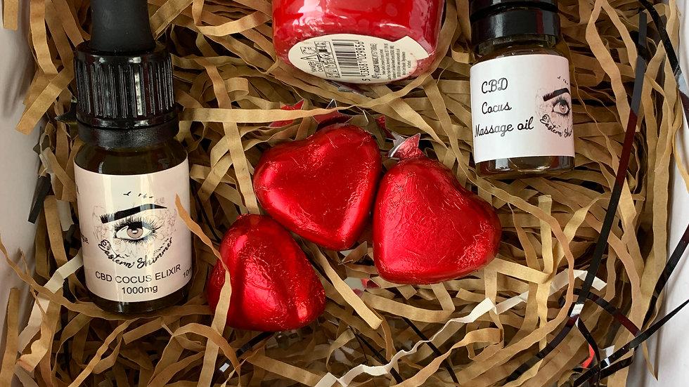 Valentine Cocus CBD Care Package
