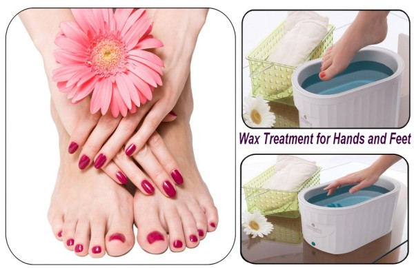 Paraffin wax treatment to aid ailments or for a treat!