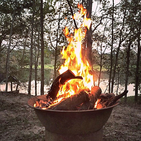 Welcome The Cool Weather With A Unique Sugar Kettle Fire Pit