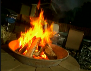 Sugar Kettle Fire Pit! DIY Yard Crashers