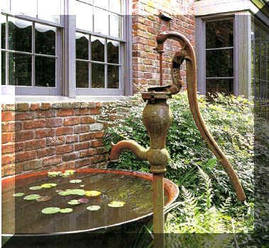 Unique Sugar Kettle Water Fountain