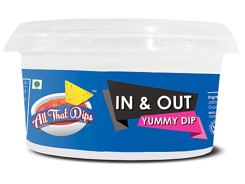 In & Out Yummy Dip