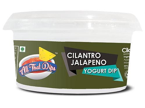 Cilantro Jalapeno Yogurt Dip