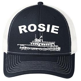 Navy Rosie Fishing Hat