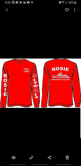 Rosie Red Long Sleeve T-Shirt