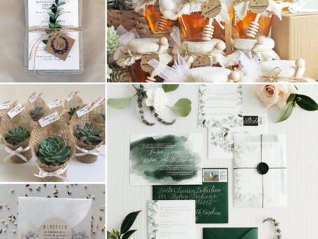 IL MATRIMONIO GREEN: LA GREEN WEDDING STATIONARY