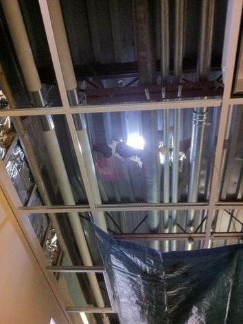 Damaged Roof Deck