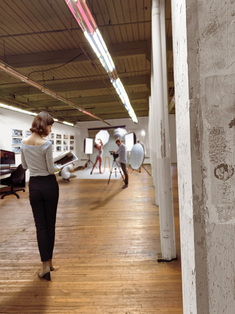 Large industrial windows are well suited to creative industries seeking natural light for studio or showroom spaces.