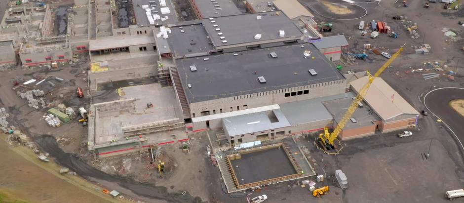 Bird's Eye View of WB Area High School