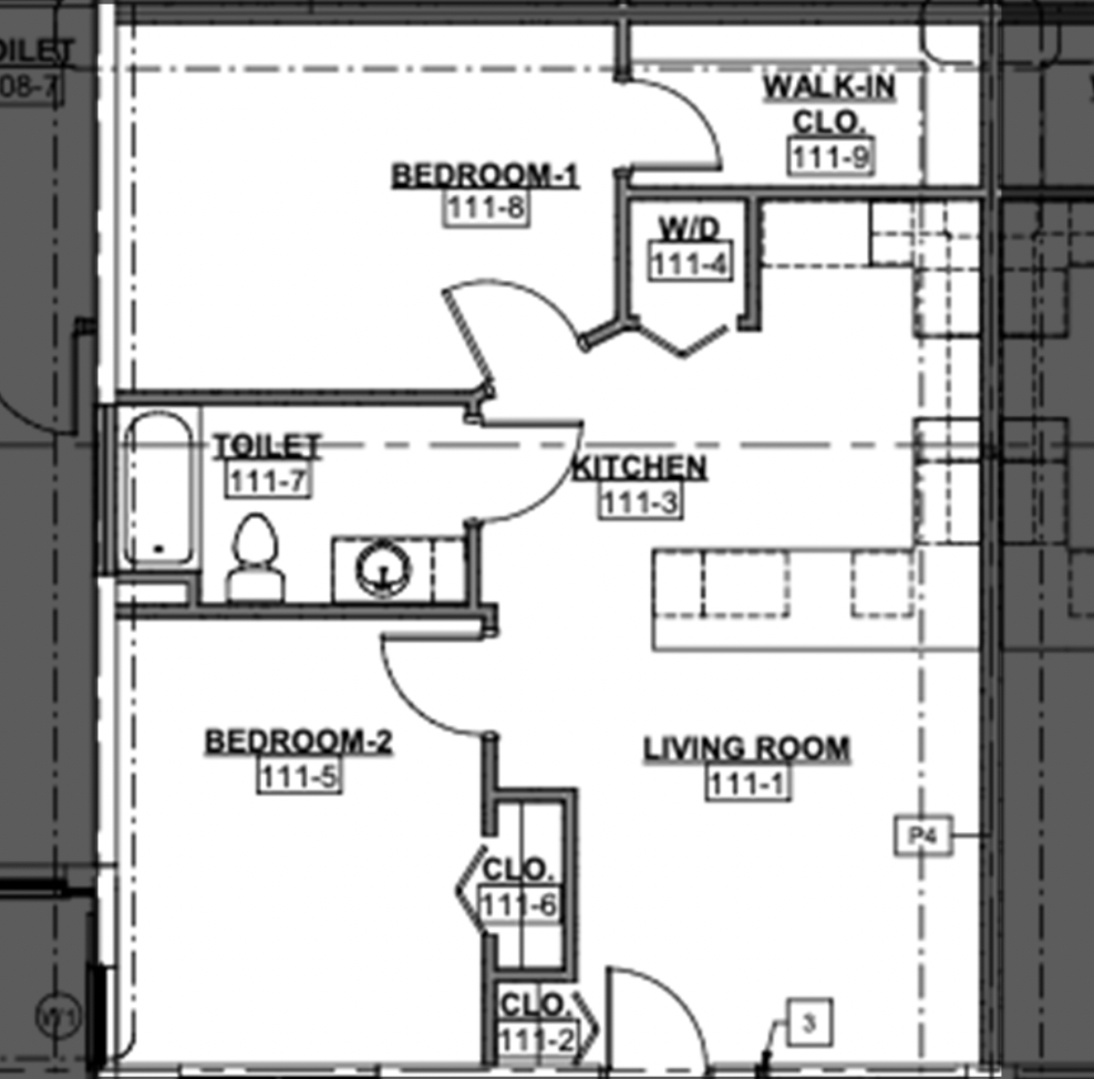 Two Bedroon Unit