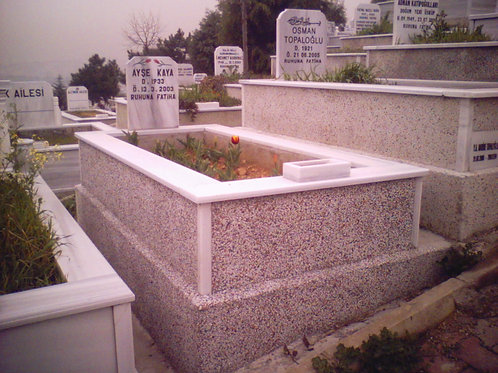 tek kişilik mozaik mezar