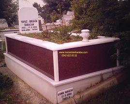 tek kişilik gövde grenit mezar
