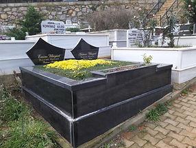 iki kişilik tamamı grenit mezar