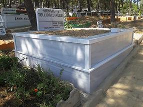 iki kişilik mermer mezar