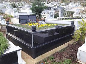 iki kişlik tamamı grenit mezar