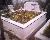 iki kişilik şeritli mezar