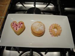 Rosewater & vanilla sponges