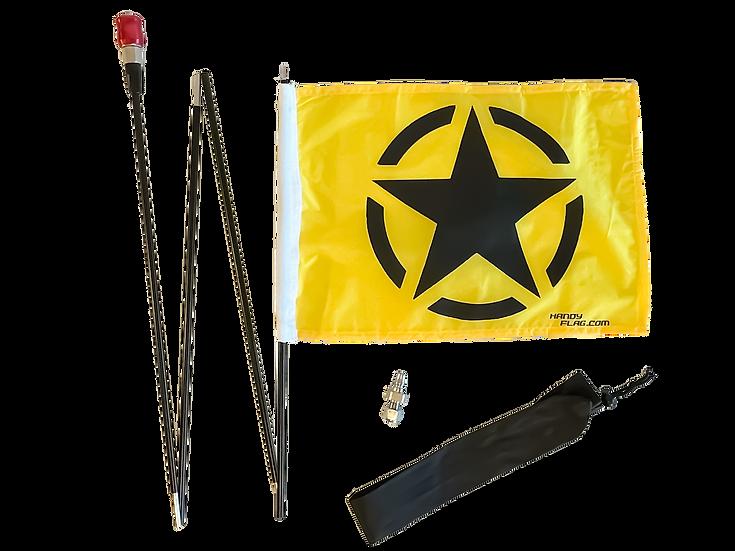 Army Star Handy Flag Kit